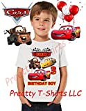 Cars Birthday Shirt, ADD any name & ANY age, Birthday Boy Shirt, Cars FAMILY Matching Shirts, Cars, Lightning McQueen shirts, Cars Shirts, VISIT OUR SHOP!!,