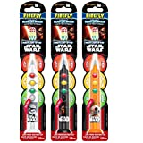 Firefly Star Wars Ready Go Soft Toothbrush with Suction Cup (Color may vary) (1 pack)