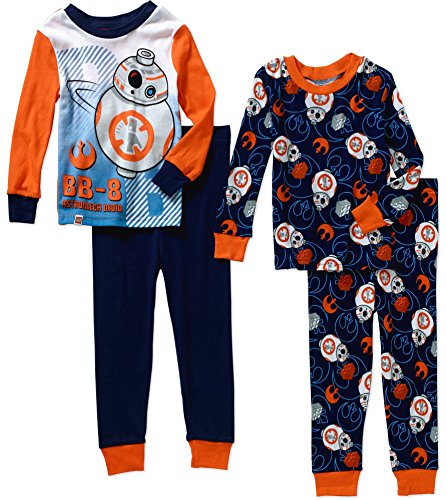 Lego Star Wars Boys' BB-8 Cotton Pajama Set, BB8
