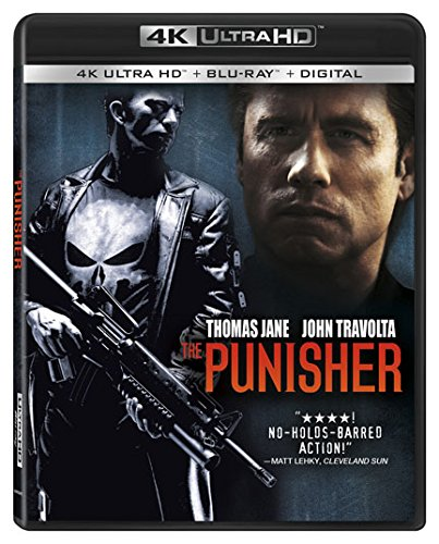 4K Blu-ray : The Punisher (With Blu-ray, 4K Mastering, 2 Pack, 2PC)
