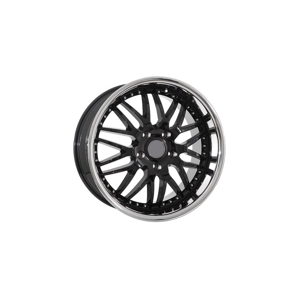 19 Inch Black Mesh Wheels Rims Fit Porsche Cayman 911 Carrera Boxster