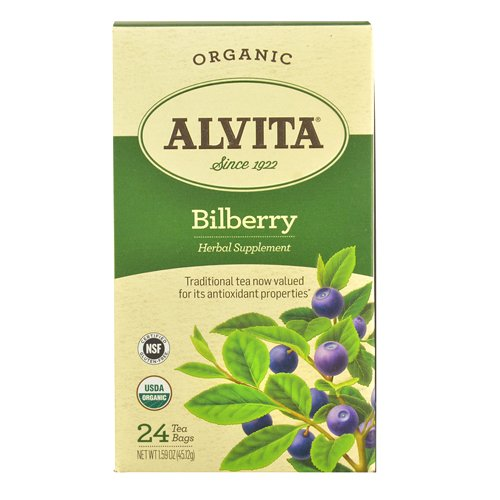 Alvita Organic Bilberry Herbal Count product image