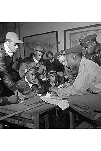 Tuskegee Airmen Paper Poster