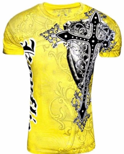 Konflic Men's All Over Print MMA Style Short Sleeve T-Shirts – Multiple Styles – DiZiSports Store