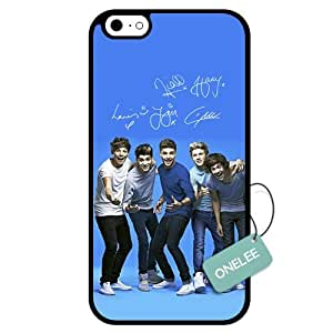 Onelee(TM) - Customized One Direction TPU Case Cover for Apple iPhone 6 - Black 02