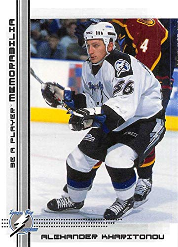 2000-01 Be A Player Memorablia Hockey #416 Alexander Kharitonov RC Rookie Card Tampa Bay Lightning Official Trading Card From ITG In The Game