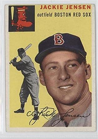Amazoncom Jackie Jensen Baseball Card 1954 Topps Base