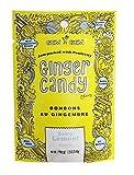 Gem Gem All Natural Chewy Zesty Lemon (Citron) Ginger Candy 1.25 oz, (Pack of 12)