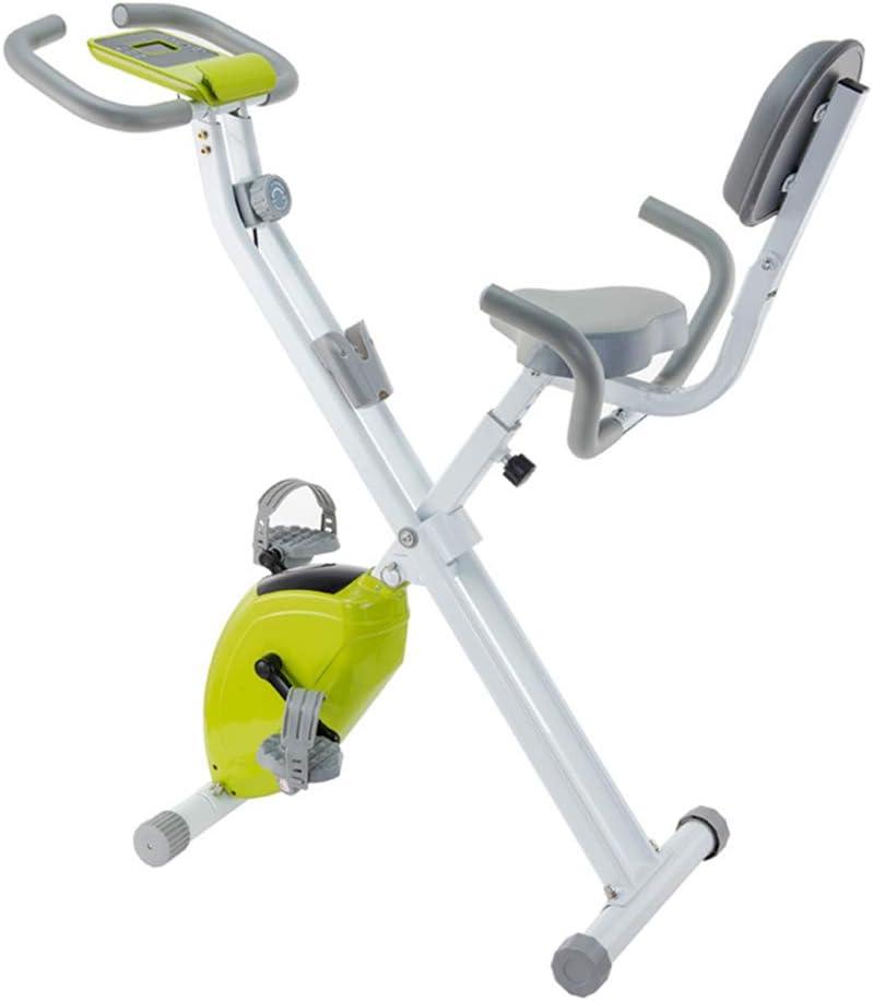 TXDWYF F-Bike/Bicicletas Estáticas y de Spinning para Fitness/Ejercicio en Casa/Bicicleta Estatica Plegable Adulto/Heimtrainer/Bicis Estaticas, Máquinas de Piernas, Unisex