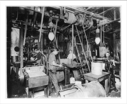 Historic Print (L): Newspaper publishing - Electro Dept., N.Y. Herald
