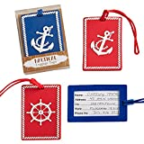 Nautical luggage tags From Gifts By Fashioncraft - 24 count