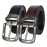 Columbia Men's Reversible Leather Belt - Casual for