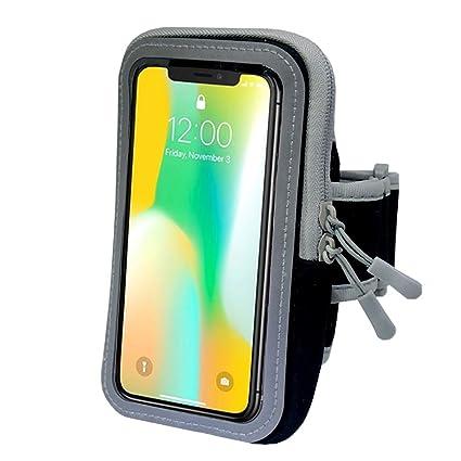13df1b7a325 Funda para teléfono con brazalete deportivo, EFFE 5.5inch brazalete para  correr a prueba de sudor, caja de teléfono celular Gym ...