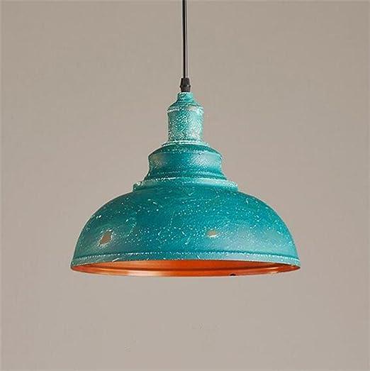 Araña araña lámpara colgante vintage industrial Do Old Blue ...