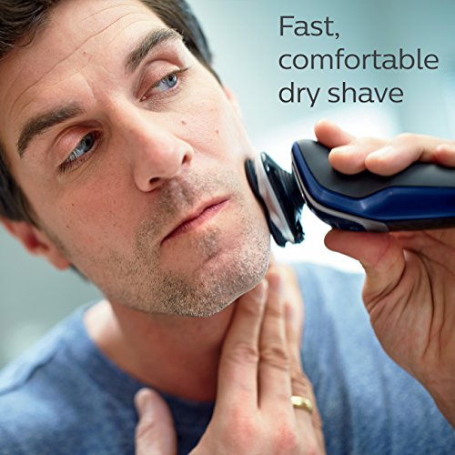 Philips Norelco Electric Shaver 5570 Wet & Dry, S5572/90, with Turbo+ mode and Nose + Ear Trimmer - http://coolthings.us