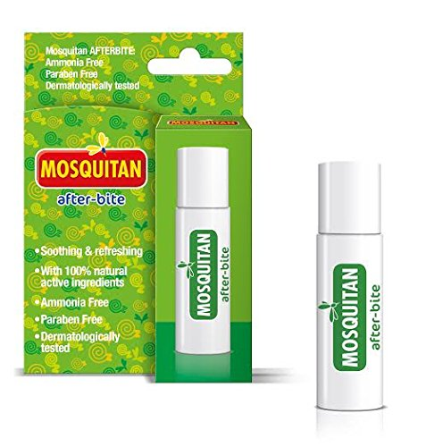 Mosquitan Roll-On After Bite Instant Insect Bite Relief 100% Natrual Active Ingredients 20ML (3 Pack)