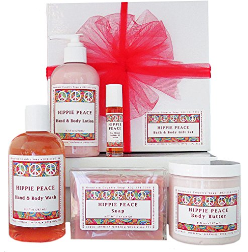 Hippie Peace Bath & Body Gift Set