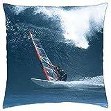 Neil Pryde Windsurf Sails - Throw Pillow...