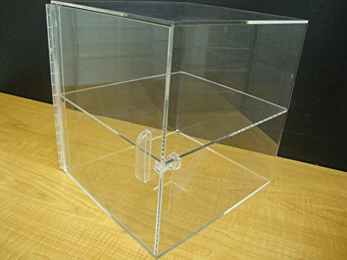 LuciteDisplay Acrylic 2 Tiers W/4 Clear Trays Bread Donut Bagels Cookie Cupcake Pastry Bakery Storage Display