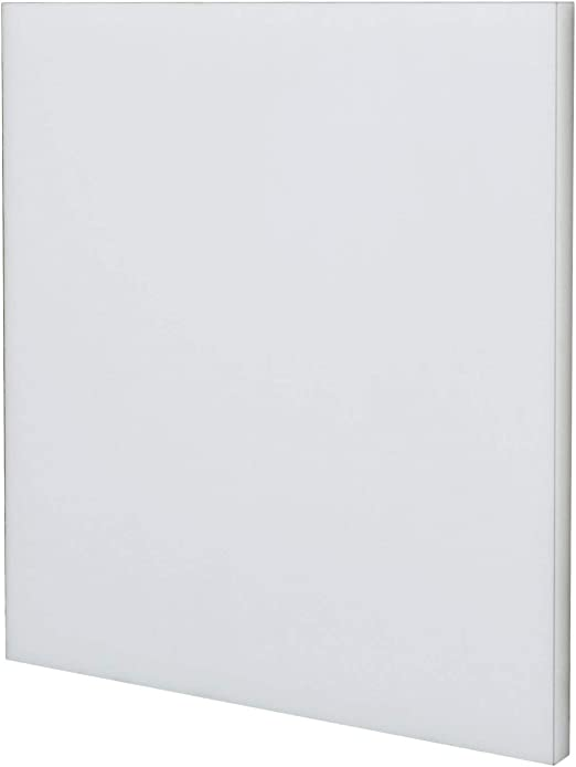 ASTM D4020 Ultra High Molecular Weight Polyethylene Sheet 24 Length D6712 12 Width UHMW Standard Tolerance Opaque White 3//8 Thickness D4976