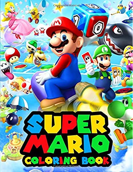 - Super Mario Coloring Book: Ideal Gift For Those Who Love Super Mario Bros:  Boom, Magnet: 9798651019571: Amazon.com: Books