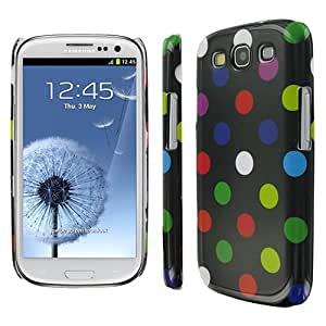 Colorful Polka Dot Flex Case Cover for Samsung Galaxy S3 S III