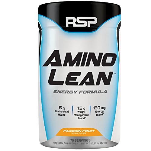 RSP AminoLean - All-in-One Pre Workout, Amino Energy, Weight