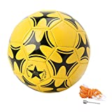 Lergo Kids World Cup Top Soccer Ball Football Game Training Ball Size 5 For Boys Gilrs Teens Youths - PVC Diameter 8.5 IN