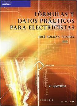 Book Fórmulas Y Datos Prácticos Para Electricistas