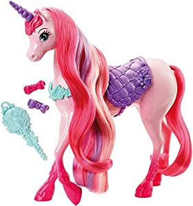 Barbie - Unicornio, Peinados mágicos (Mattel DHC38)