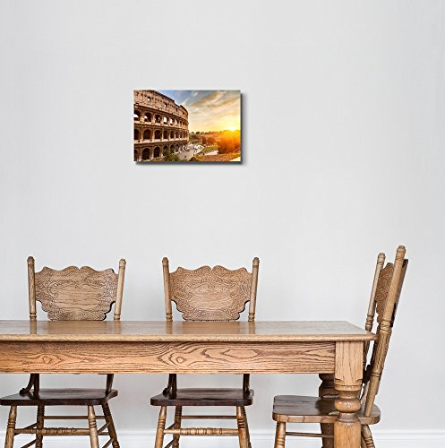 Coliseum at Sunset Time Home Deoration Wall Decor
