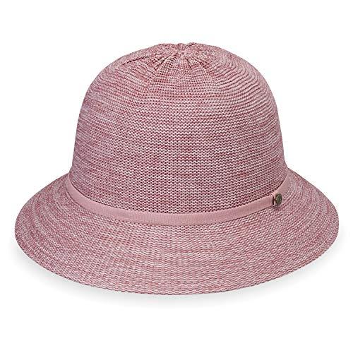 Wallaroo Hat Company Women's Tori Sun Hat - Mixed Rose - UPF 50+, New 2019