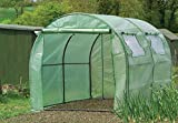 Gardman 7624 Poly-Tunnel with Reinforced Cover and Windows,  118.11'' Long x 78.74'' Wide x 74.80'' High