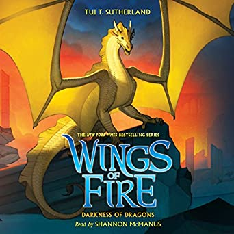 Amazon Com Darkness Of Dragons Wings Of Fire Book 10 Audible