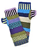 Solmate Socks, Mismatched Fingerless Mittens for Men or Women, USA Made, Equinox