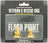 Indie Boards & Cards Flash Point Fire Rescue: Veteran and Rescue Dog Accessory Pack