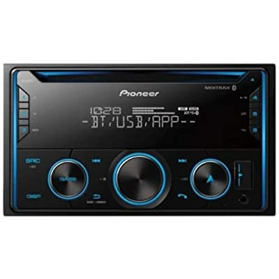 PIONEER FH-S520BT Pioneer FHS520BT Double Din Bluetooth in-Dash CD/Am/FM Car Stereo Receiver W/USB, Smart Sync, Alexa Compatible