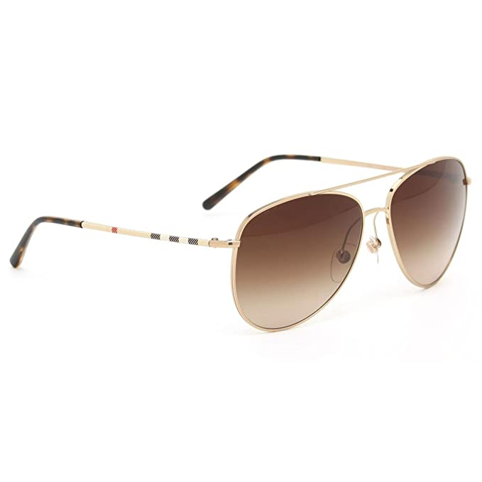 a4a2b2202c09 Burberry 3072 118913 Gold 3072 Aviator Sunglasses Lens Category 3   Amazon.in  Clothing   Accessories