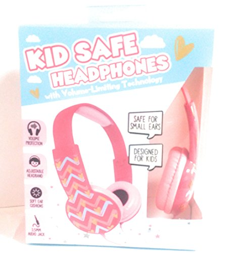 Jcpenney Costume Jewelry (KID SAFE HEADPHONES WITH VOLUME LIMITING TECHNOLOGY SAFE FOR SMALL EARS DESIGNED FOR KIDS COMPATIBLE WITH IPHONES/ ANDROID/ IPAD / IPOD/ MP3 PLAYERS 3.5MM AUDIO JACK)