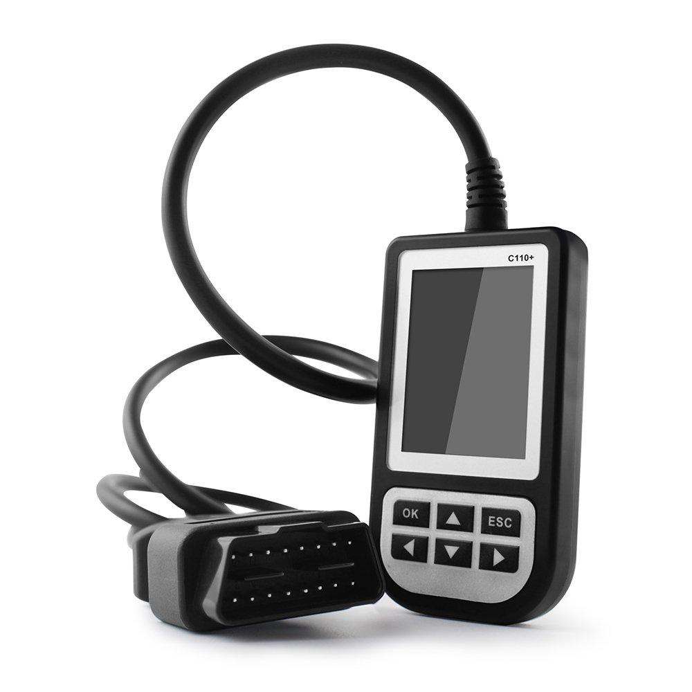 MAOZUA C110+ Latest V4.5 BM Code Reader Airbag/ABS/SRS Diagnostic Scan Tool