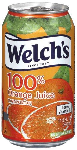 Welch's Orange Juice, 11.5 oz - Pk of 24