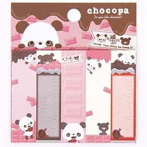 Bonitas Pegatinas Post-it Marcapáginas del oso panda Chocopa