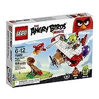 Kit de construcción LEGO Angry Birds 75822 Piggy Plane Attack (168 piezas)