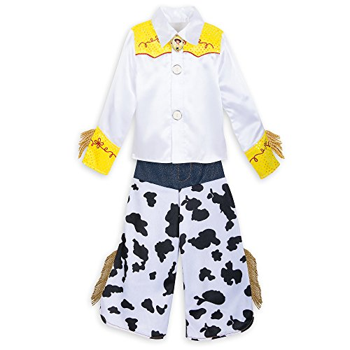 Disney Jessie Costume Kids - Toy Story 2 Size 4 Multi -