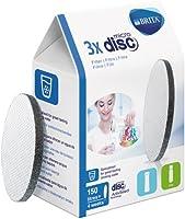 BRITA MicroDisc - Pack de filtros de agua para 3 meses,  incluye 3 MicroDiscs