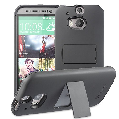 TPU Silicone Back Case for HTC ONE M8 (Black) - 6