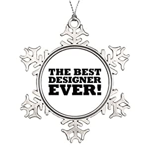 Amazon.com: Moc Moc Best Friend Snowflake Ornaments The Best ...