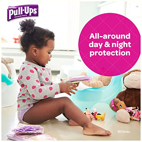 Large Product Image of Pull-Ups Learning Designs Potty Training Pants for Girls, 2T-3T (18-34 lb.), 74 Ct. (Packaging May Vary)