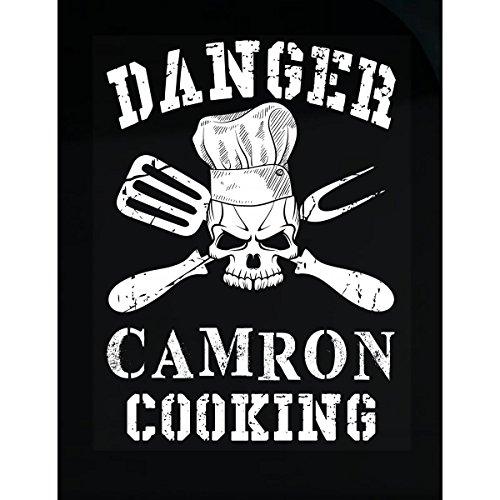AttireOutfit Danger Camron Cooking - Sticker