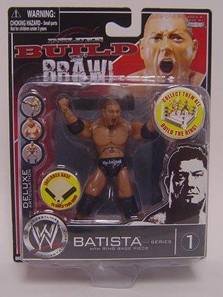 WWE Wrestling Build N' Brawl Series 1 Mini 4 Inch Action Figure (Wwe Build N Brawl Ring)